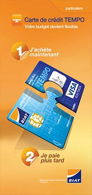 Carte Bancaire Biat.Credit Revolving Tempo Offre Particuliers Biat