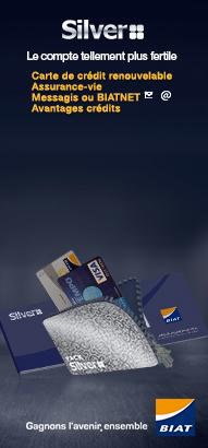 Carte Bancaire Biat.Pack Silver Offre Particuliers Biat